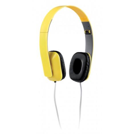 Sluchátka, žlutá