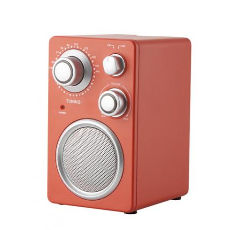 Rádio, červená