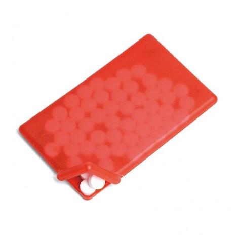 Dávkovač bonbónů, červená