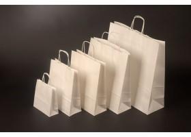 Papírová taška Bianco 18x8x25 cm