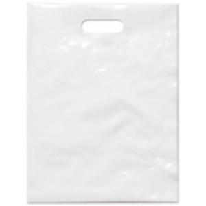 PE taška 15x20 cm, bílá