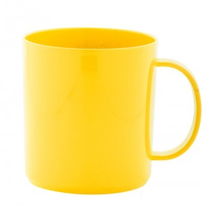 Hrnek, žlutá