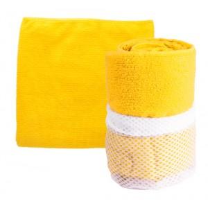 Sportovní ručník, žlutá