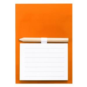 Blok s magnetkou, oranžová