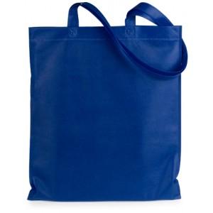 Nákupní taška z netkané textilie, modrá
