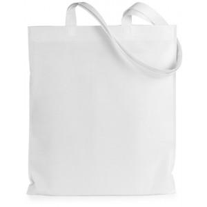 Nákupní taška z netkané textilie, bílá