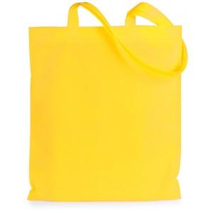 Nákupní taška z netkané textilie, žlutá