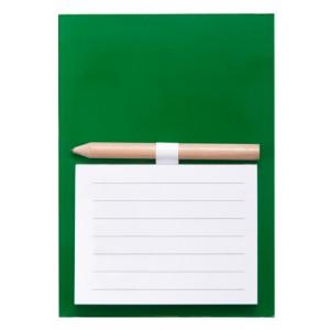 Blok s magnetkou, zelená