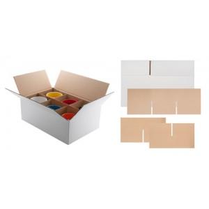 Krabice na 6 hrnků, bílá
