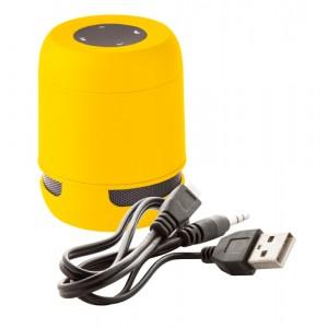 Bluetooth reproduktor, žlutá