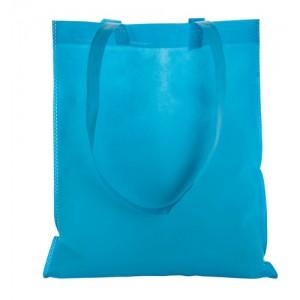 Nákupní taška z netkané textilie, světle modrá