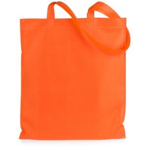 Nákupní taška z netkané textilie, oranžová