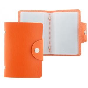 Obal na karty, oranžová