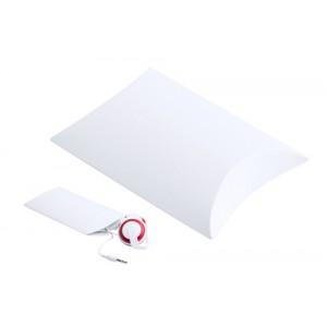 Papírová dárková krabička, bílá