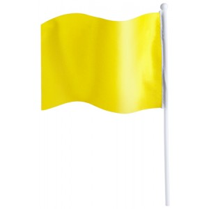Praporek, žlutá