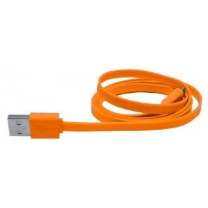 Mikro USB nabíjecí kabel, oranžová