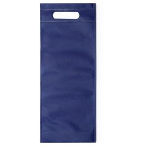 Taška na víno z netkané textílie, tmavě modrá