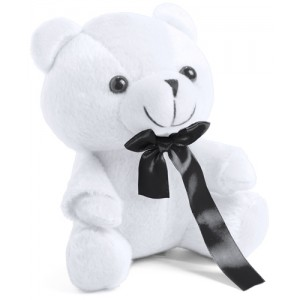 Plyšový medvídek, bílá