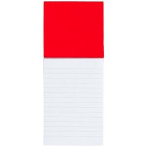 Blok s magnetkou, červená