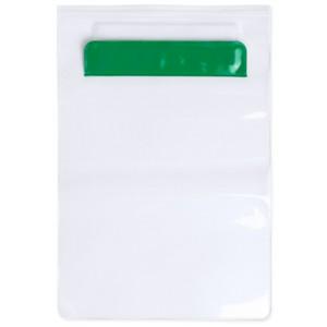 Voděodolný obal na tablet, zelená