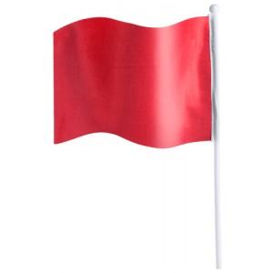 Praporek, červená