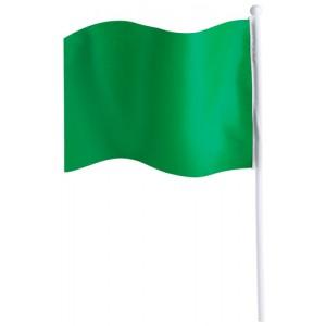 Praporek, zelená