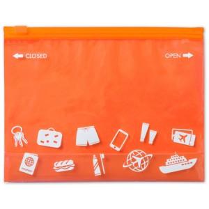 Víceúčelová taška na zip, oranžová