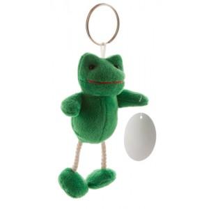 Plyšová žába, zelená
