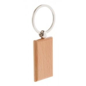 Dřevěná klíčenka, přírodní