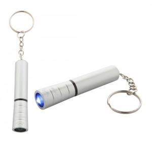 Mini svítilna, stříbrná