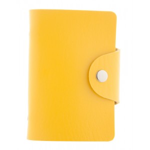 Obal na karty, žlutá