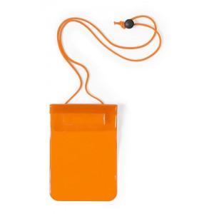 Voděodolný obal na mobil, oranžová