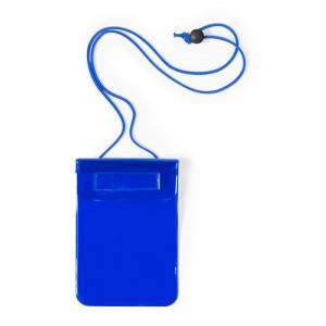Voděodolný obal na mobil, modrá