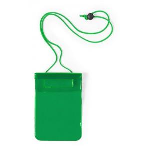 Voděodolný obal na mobil, zelená