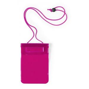 Voděodolný obal na mobil, růžová