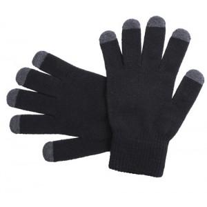Dotykové rukavice, černá