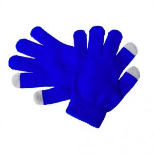 Dotykové rukavice pro děti, modrá