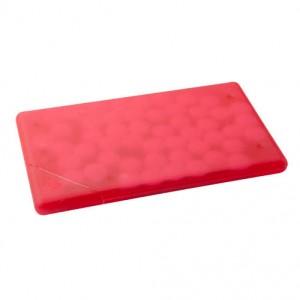 Krabička s mentolovými bonbóny, červená