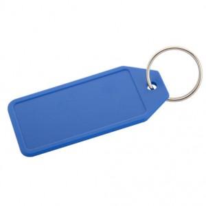 Plastová klíčenka, královská modrá