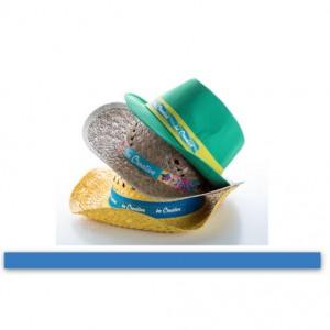 Stuha ke kloboukům, světle modrá