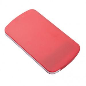 Plastové zrcátko, červená