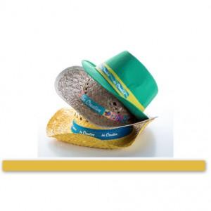 Stuha ke kloboukům, žlutá
