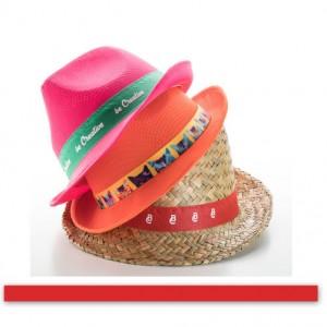 Stuha ke kloboukům, červená