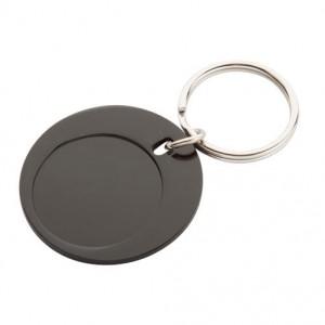 Kovová klíčenka, černá