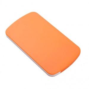 Plastové zrcátko, oranžová
