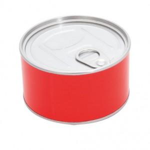 Hodiny, červená