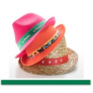 Stuha ke kloboukům, zelená