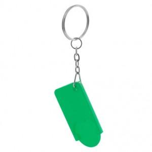 Klíčenka na mince, zelená