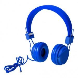 Sluchátka, modrá
