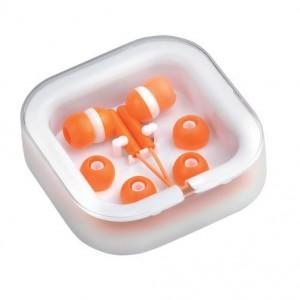 Sluchátka, oranžová